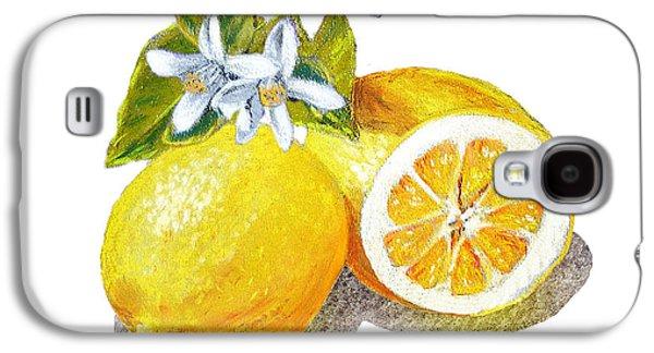 Two Happy Lemons Galaxy S4 Case