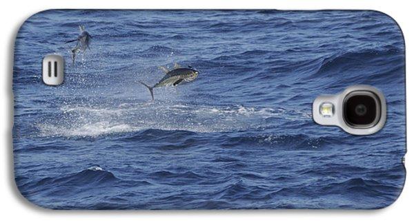 Two Jumping Yellowfin Tuna Galaxy S4 Case