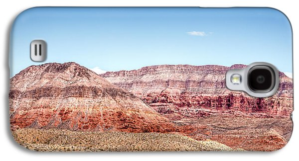 Two Layered Mountains Galaxy S4 Case