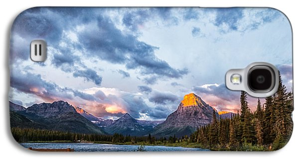 Two Medicine Lake Sunrise Galaxy S4 Case