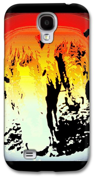 They Were Two Of A Kind, And They Were Kind To Each Other  Galaxy S4 Case by Hilde Widerberg