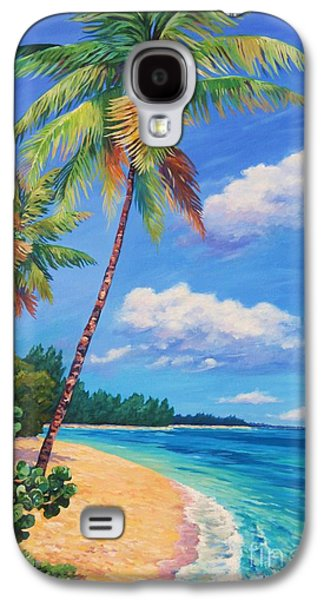 Two Palms In Paradise Galaxy S4 Case