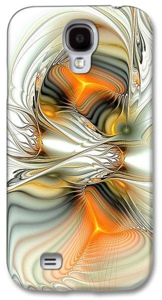 Two Sides Of The Story Galaxy S4 Case by Anastasiya Malakhova