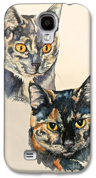 Two Torti's Galaxy S4 Case by Susan Herber