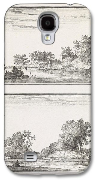 Two Waterscapes, Robbert Muys Galaxy S4 Case by Quint Lox