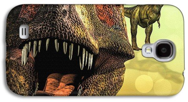 Tyrannosaurus Rex 4 Galaxy S4 Case by Bob Orsillo