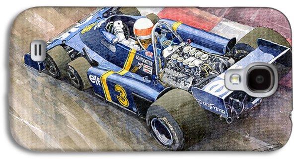Elf Galaxy S4 Case - Tyrrell Ford Elf P34 F1 1976 Monaco Gp Jody Scheckter by Yuriy Shevchuk