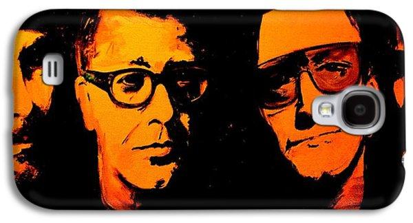 U2 Abstract Galaxy S4 Case by John Barth
