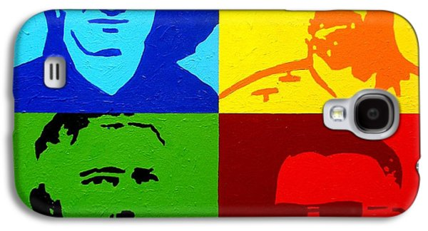 U2 Galaxy S4 Case by John  Nolan