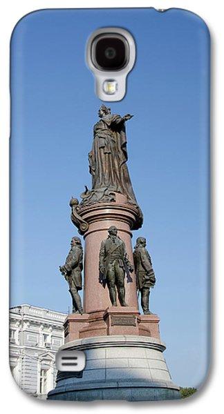 Ukraine, Odessa Downtown Odessa, Statue Galaxy S4 Case by Cindy Miller Hopkins
