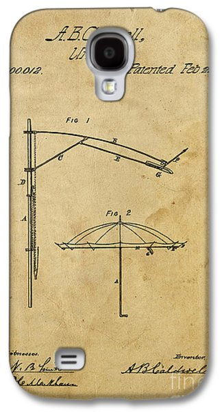Umbrella Patent - A.b. Caldwell Galaxy S4 Case by Pablo Franchi