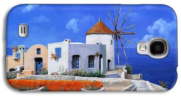 un mulino in Grecia Galaxy S4 Case