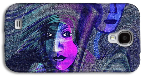 Una Madonna Arrabbiata - 315   Galaxy S4 Case by Irmgard Schoendorf Welch
