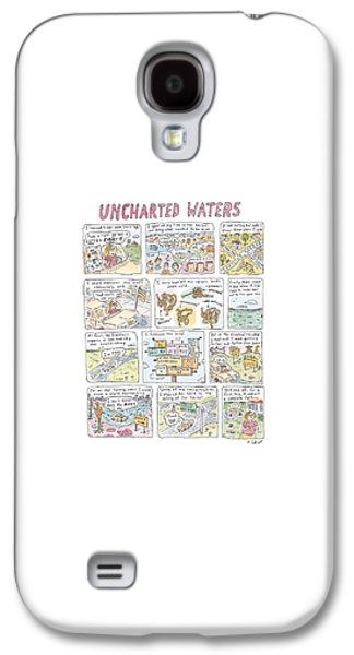 'uncharted Waters' Galaxy S4 Case