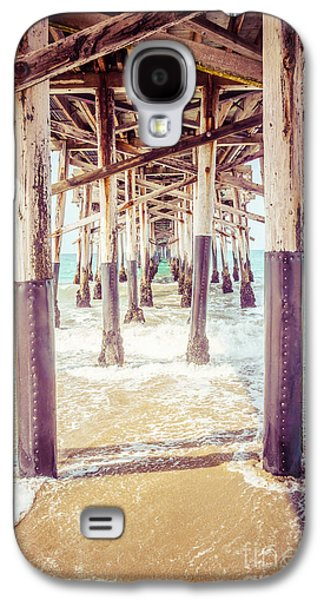 Under The Pier In Southern California Picture Galaxy S4 Case by Paul Velgos