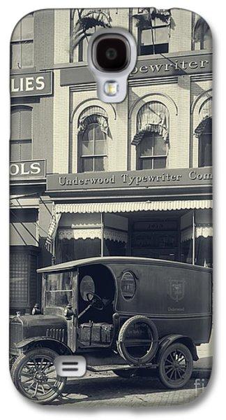 Underwood Typewriter Factory Galaxy S4 Case by Edward Fielding
