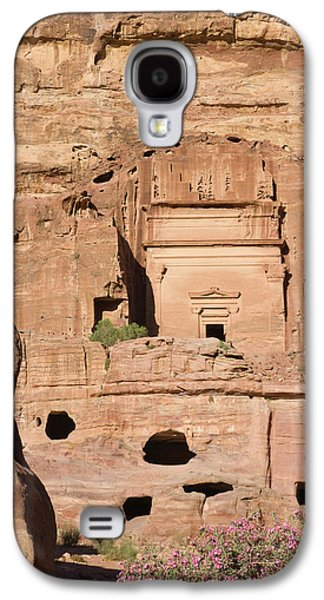 Uneishu Tomb, Petra, Jordan (unesco Galaxy S4 Case by Keren Su