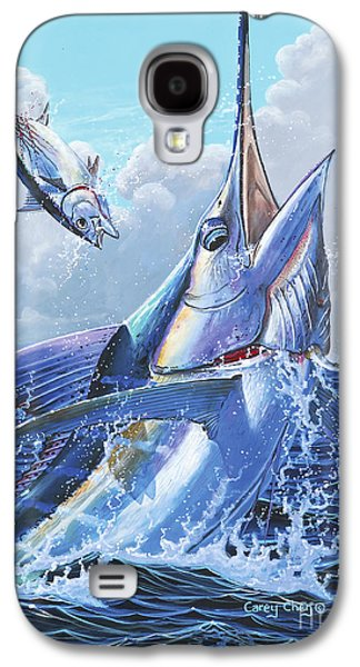 Sharks Galaxy S4 Case - Unexpected Off0093 by Carey Chen