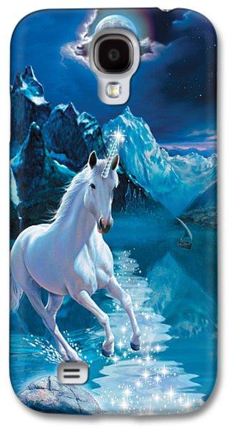 Unicorn Galaxy S4 Case by Andrew Farley