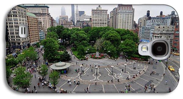 Union Square, N.y.c Galaxy S4 Case by Georgia Fowler