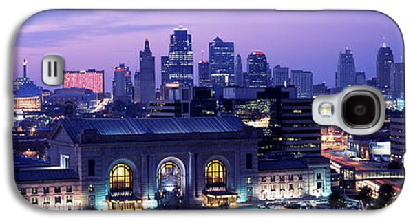 Union Station At Sunset With City Galaxy S4 Case by Panoramic Images