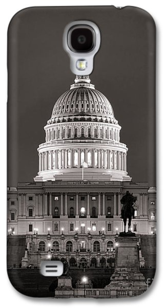 United States Capitol At Night Galaxy S4 Case