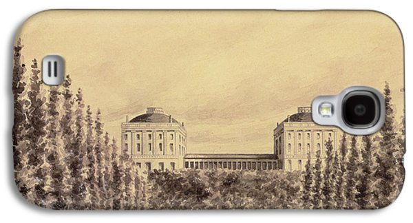 United States Capitol From Pennsylvania Avenue Galaxy S4 Case by Benjamin Henry Latrobe