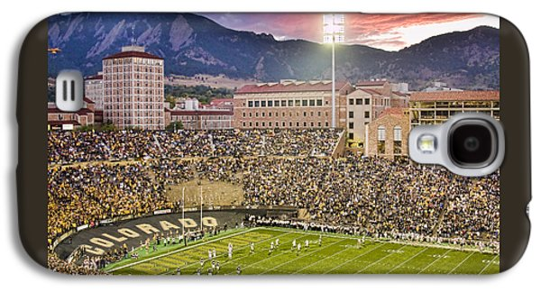 University Of Colorado Boulder Go Buffs Galaxy S4 Case by James BO  Insogna