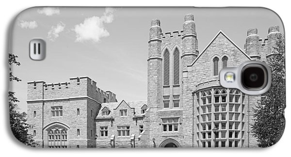 University Of Connecticut School Of Law Meskill Law Library Galaxy S4 Case by University Icons