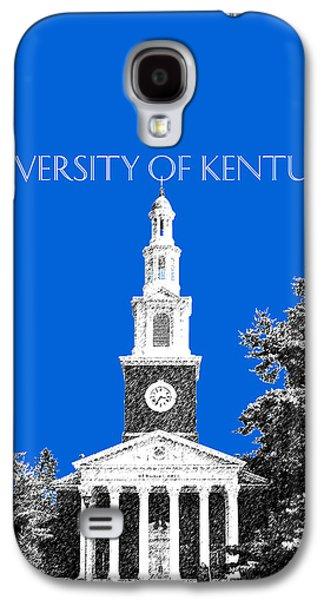 University Of Kentucky - Blue Galaxy S4 Case by DB Artist