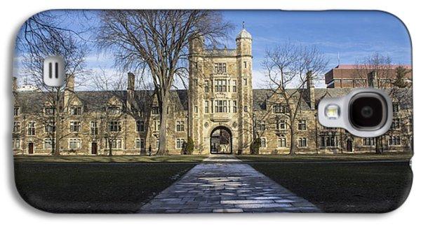 University Of Michigan Galaxy S4 Case - University Of Michigan Campus by John McGraw