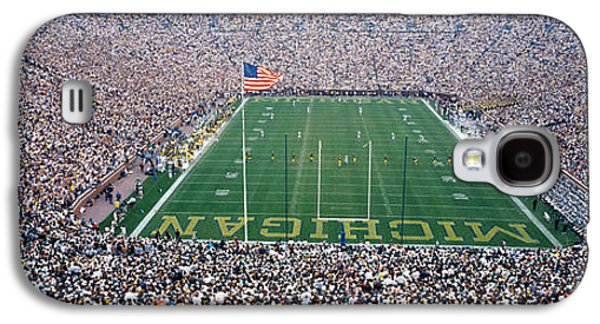 University Of Michigan Football Game Galaxy S4 Case by Panoramic Images