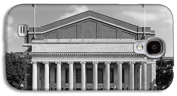 University Of Minnesota Northrop Auditorium Galaxy S4 Case by University Icons