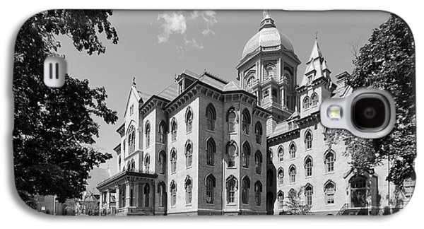 University Of Notre Dame Main Building Galaxy S4 Case by University Icons