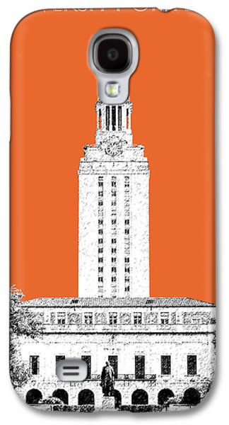 University Of Texas - Coral Galaxy S4 Case