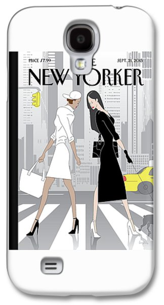 New Yorker September 21st, 2015 Galaxy S4 Case
