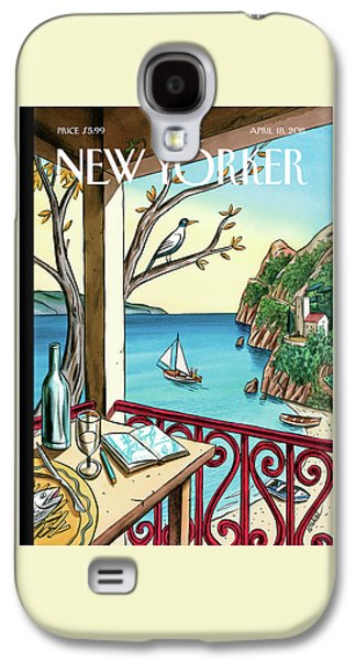 New Yorker April 18th, 2011 Galaxy S4 Case