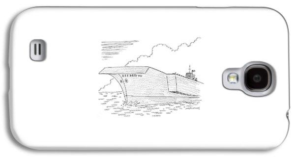 U.s.s. Deja Vu Galaxy S4 Case by Mick Stevens