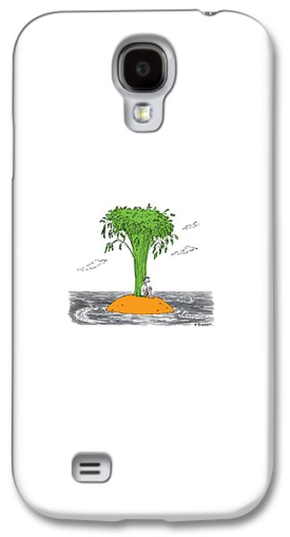 Carrot Galaxy S4 Case - New Yorker January 16th, 2017 by Pat Byrnes