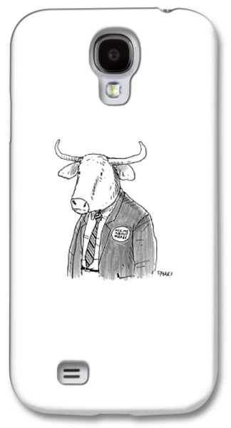Minotaur Galaxy S4 Case - New Yorker October 24th, 2016 by Rich Sparks