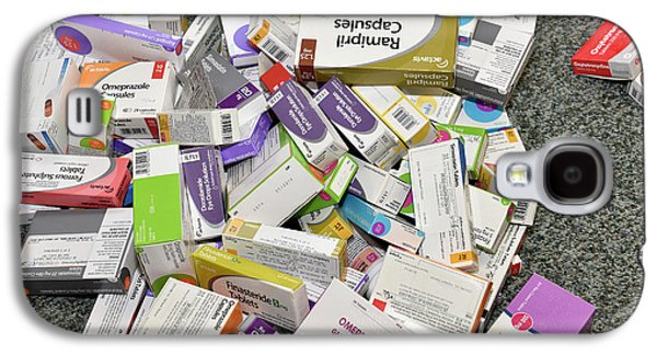 Unused Drugs Galaxy S4 Case by Dr P. Marazzi