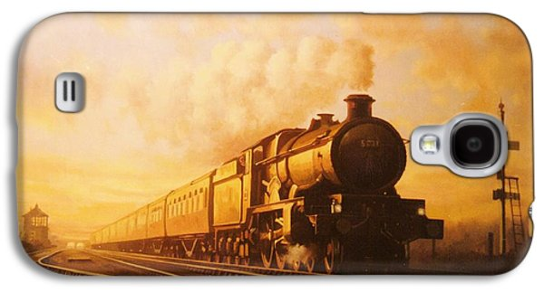 Up Express To Paddington Galaxy S4 Case by Mike  Jeffries