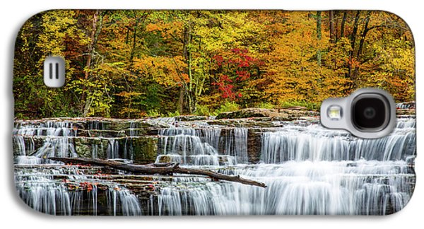 Upper Cataract Falls On Mill Creek Galaxy S4 Case by Chuck Haney