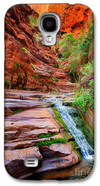 Upper Elves Chasm Cascade Galaxy S4 Case by Inge Johnsson