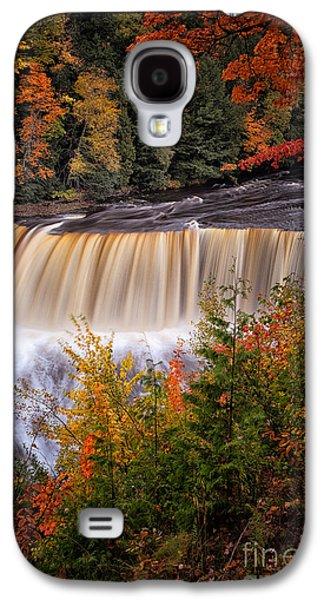 Upper Tahquamenon Falls II Galaxy S4 Case by Todd Bielby