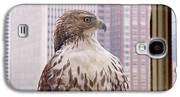 Urban Red-tailed Hawk Galaxy S4 Case