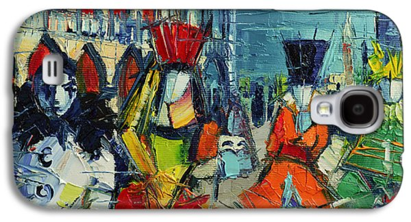 Urban Story - The Carnival Galaxy S4 Case by Mona Edulesco