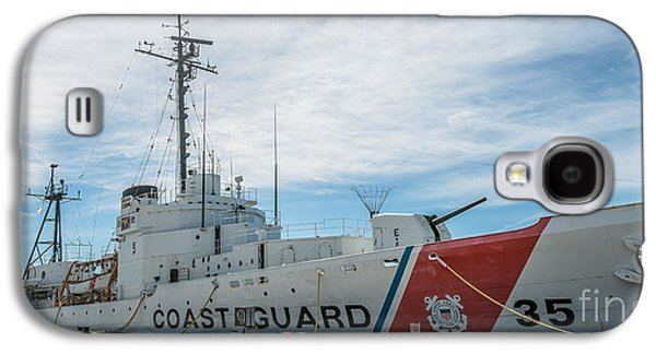 Us Coast Guard Cutter Ingham Whec-35 - Key West - Florida - Panoramic Galaxy S4 Case by Ian Monk