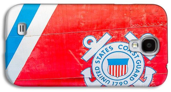 Us Coast Guard Emblem - Uscgc Ingham Whec-35 - Key West - Florida Galaxy S4 Case
