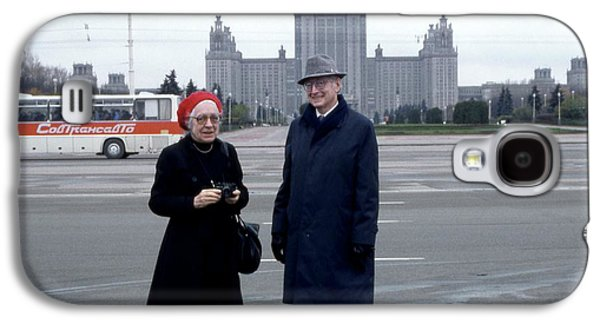 Us Physicists In Moscow Galaxy S4 Case by Emilio Segre Visual Archives/american Institute Of Physics